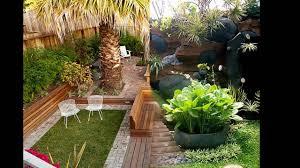 backyard small home garden ideas youtube