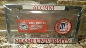 ohio alumni license plate frame ohio license plates for sale only 4 left at 60