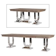 Industrial Dining Table Industrial Chic Pine And Steel Dining Table