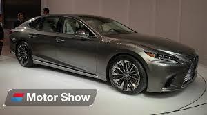 lexus van 2017 2017 lexus ls 500 first look at the detroit motor show youtube