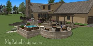 Terraced Patio Designs Curvy Terraced Patio Design Cleveland 3 Patios New Pinterest
