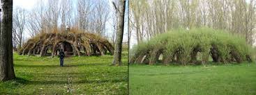 willow gazebo stone art blog living willow structures