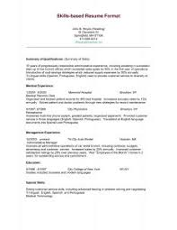 Skill Based Resume Sample by Free Resume Templates 89 Marvelous Template Word Online U201a Nursing