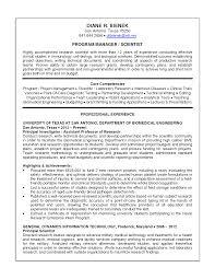 Scientist Resume Sample Resume Assistant Portfolio Manager Sample Resume Templates