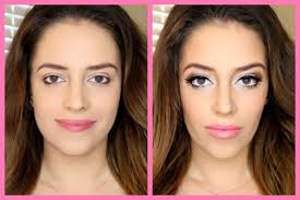 how to slim your face with contouring in 5 minutes youtube