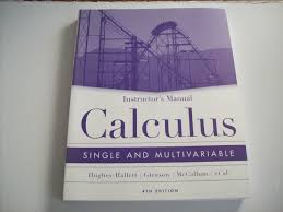 instructor u0027s manual calculus single and multivariable deborah