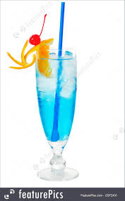blue lagoon cocktail beverages blue long drink cocktail stock photo i2972431 at