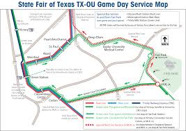 State Fair Map Dart Org Ride Dart To The State Fair Of Texas