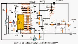 On Off Timer Circuit Diagram Simple Remote Controlled Fan Regulator Circuit