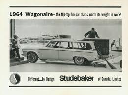 car ads in magazines studebaker wagonaire 1963 1966 registry