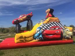 disney cars 5 in 1 combo slides and jumpers ultimate