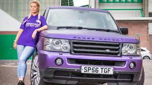 purple range rover 1m ruined the past three years says lottery winner the times