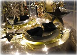 New Year S Eve Buffet Decorations by Dining Delight New Year U0027s Eve Tablescape In Black U0026 Gold