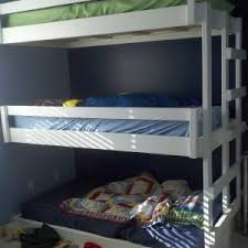 astonishing diy triple bunk beds plans images design ideas amys
