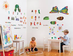 Hungry Caterpillar Nursery Decor Hungry Caterpillar Room Decor Kit The Eric Carle Museum Of