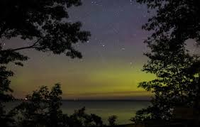 Northern Lights Forecast Michigan Geomagnetic Storm Means Northern Lights Could Pop Tonight In 1