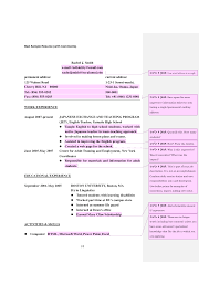 7 best images of bad example of resume format good cv example