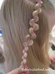 hairstyles using rubber bands rubber band wraps flipped braids babes in hairland