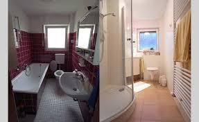 badezimmer erneuern kosten ös fliesen streichen vorher nachher genial brummer 1 01