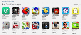 best free apps for android vine tops list of free iphone apps in app store