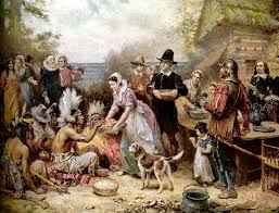 the story of the pilgrims celebrating holidays