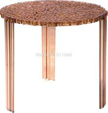 in stock 1 piece pc plastic patricia uroquiola hollowed tea table