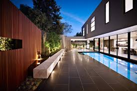 magnificent decorative fence panels in pool contemporary with