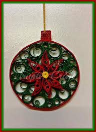 trupti u0027s craft paper quilling christmas ornament