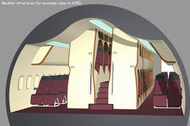 cabin design new vertical cabin design stacks passengers to increase room in