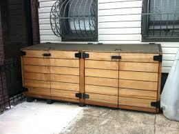 garbage can cabinet amazoncom household essentials c212471 under