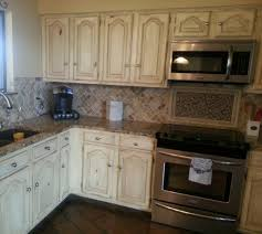 distressed white kitchen cabinets kitchen decoration