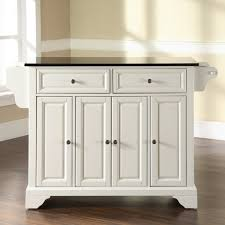 Kitchen Island Cart With Drop Leaf by Baxton Studio Meryland White Kitchen Cart With Storage 28862 5408