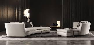 contemporary sofa contemporary sofa leather fabric by rodolfo dordoni