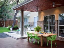 covered outdoor living spaces photos austin outdoor design hgtv