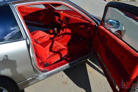 velvet car crx si 1988 clean show car red interior velvet garage kept