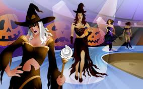 desktop wallpaper seasonal wallpaper animated halloween
