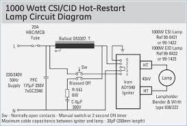 metal halide l circuit diagram generous high pressure sodium ballast wiring diagram contemporary