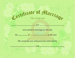 10 best marriage certificate templates images on pinterest