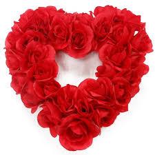heart wreath glitter heart wreath walmart