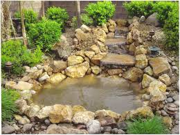 Small Garden Waterfall Ideas Cool Pond Waterfall Ideas Small Pond With Waterfall 23 On Exterior