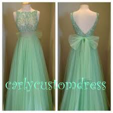 champagne mint prom dress beaded bridesmaid dress peach red grey