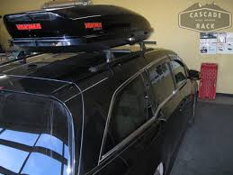 How To Install Roof Rack On Honda Odyssey by Cascade Rack Custom Base Rack Installation And Cargo Box 2011