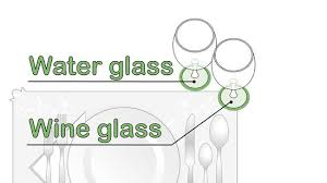 How To Set Silverware On Table 3 Ways To Set A Table Wikihow