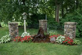 Ideas For Small Front Gardens by Triyae Com U003d Pictures Of Backyard Memorial Gardens Various