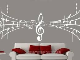 music note home decor d426 home decoration wall paper art viny removable sticker ws46