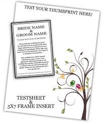 tree guest book 20x24 wedding tree guest book fingerprint tree guest book