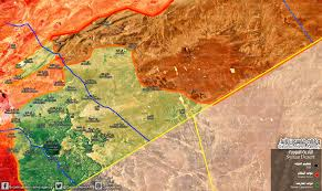 Syria War Map by Qasion News Agency Qasioun Map Latest Military Updates In The