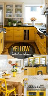 blue kitchen cabinets and yellow walls remodelaholic yellow kitchen decorating ideas