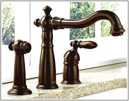 Venetian Bronze Kitchen Faucet Delta Linden Venetian Bronze Kitchen Faucet Snaphaven