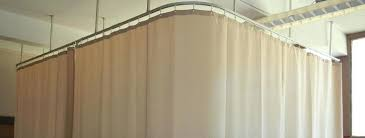 Hospital Cubicle Curtains Hospital Cubicle Curtains Privacy Curtain Hung Series Track